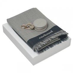 Pánské hodinky s manžetovými knoflíčky Seal White