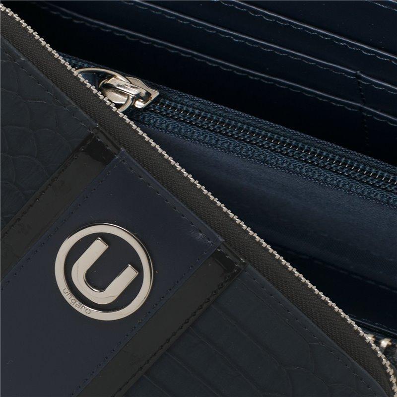 Kuličkové pero s přívěškem ke klíčům Pure Leather Black (Set HAK604A + HSL6044A)